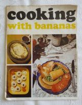 zz Cooking with Bananas (Geest, c.1970s) - vintage advertising recipe booklet (SOLD)
